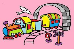 Детский поезд