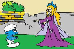 Смурф и принцесса