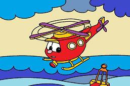 Cпасательный вертолет