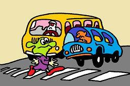 Осторожно, пешеходный переход!