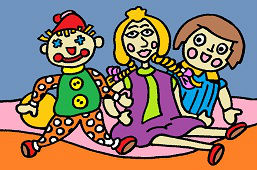 Tекстильные куклы