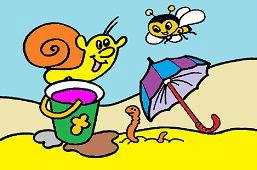 Улитка и пчела