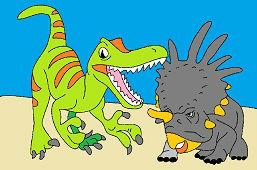 Алозавр и Стюракозавр