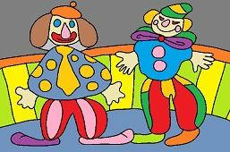 Цирковые клоуны