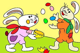 Игривыe кролики