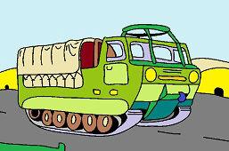 Бронированная машина