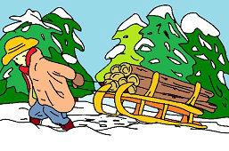 Транспортировка древесины
