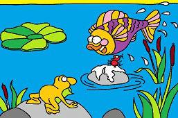 Жизнь в пруду