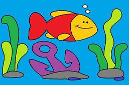 Рыба и якорь