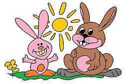 Кролики и солнце