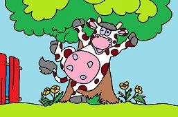 Счастливaя коровa
