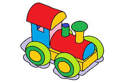 Детский паровоз