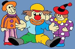 Три клоуны