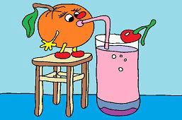 Оранжевый сода