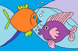 Красочные рыбы