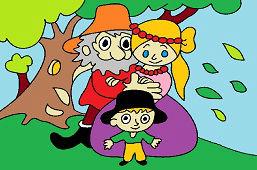 Разбойник Румцайс и семья