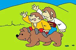 Матько, Кубко и бурый медведь