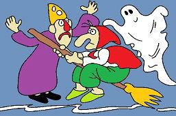 Ведьма, мастер и призрак