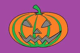 Хэллоуинская тыква