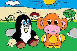 Крот и обезьяна