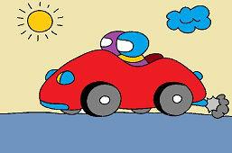 Автомобиль с командой