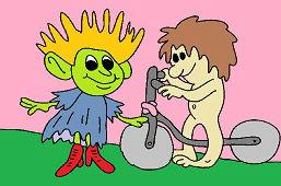 Эльф и маленький человек