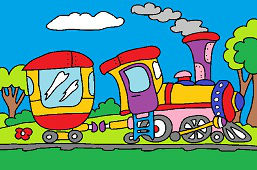Поезд идёт