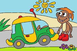 Mашина для обезьяны