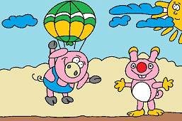Свинья и белка