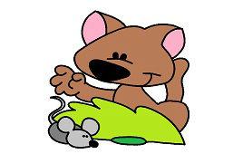 Лис и мышь