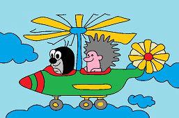 Крот и вертолет