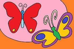 Игривые бабочки