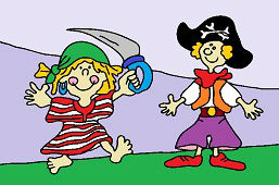 Игра в пиратов