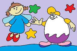Ангел и Киндер яйцо
