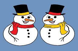 Снеговик и снеговик