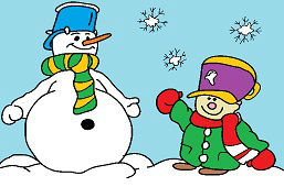 Мой друг Снеговик