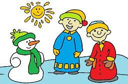 Игра со снеговиком