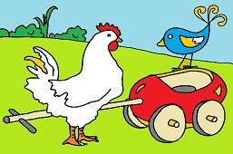 Курица и соловей