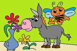 Осёл и пчела