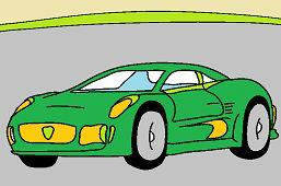 Гоночный автомобиль 3