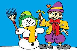 Морковь для снеговика