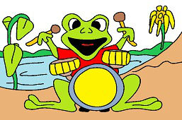 Лягушка-Барабанщик