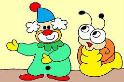 Клоун и улиткa