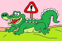 Остерегайтесь крокодилов!