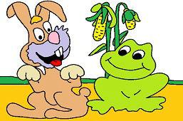 Кролик и лягушка