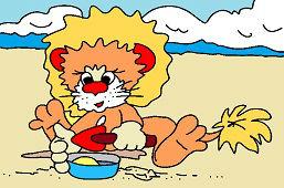 Игра на песке