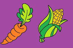 Морковь и кукуруза