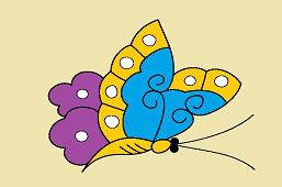 Дневная бабочка
