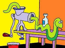 Змея в кухне