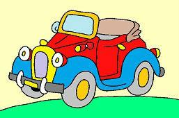 Cтарый автомобиль
